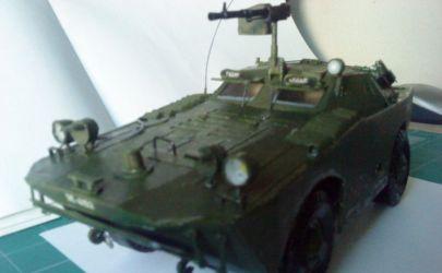 Rosyjski Opancerzony Samochod Rozpoznawczy BRDM - Modelik 19/10