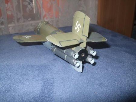 Fi-103 Reichenberg i Ba 349 Natter