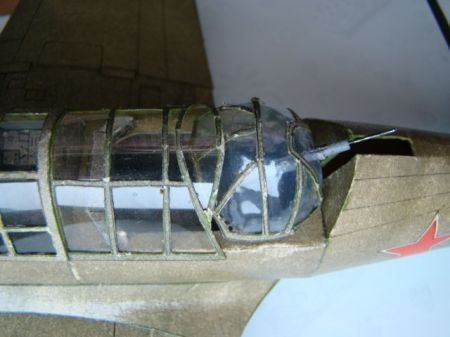 Lekki samolot bombowy SU-2     3-85r