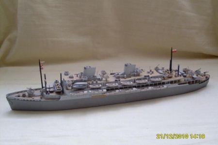 JSC BATORY jako okręt desantowy