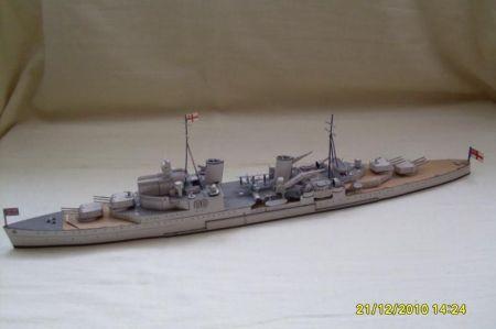 JSC ciężki krążownik  SHEFFIELD