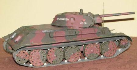 T-34/76 Wydawnictwo Answer Radziecki czołg
