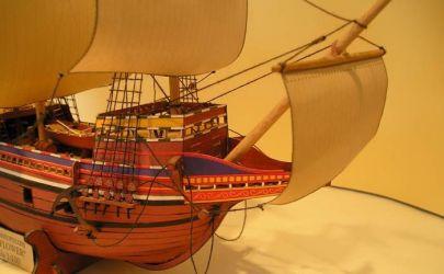 Okręt żaglowy z XVIIw. Mayflower