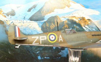Spitfire Ia - 3/2010 Kartonowy Arsenał