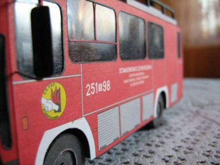 Jelcz 080 wóz pożarniczy