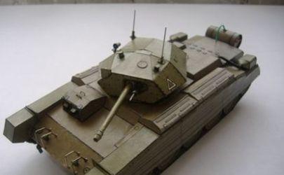 Angielski czołg MkVI Crusader III