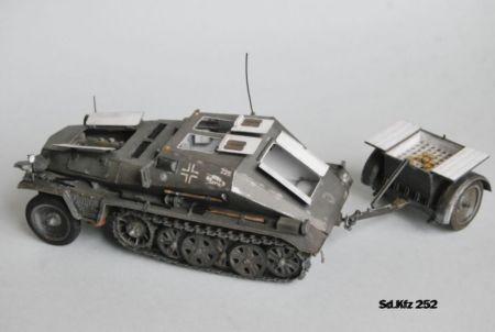 Sd.Kfz 252 transporter amunicyjny [GPM 1/2004]