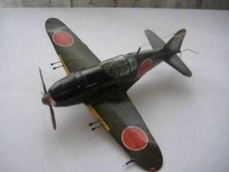 Japoński samolot Mitsubishi J2M2 Raiden