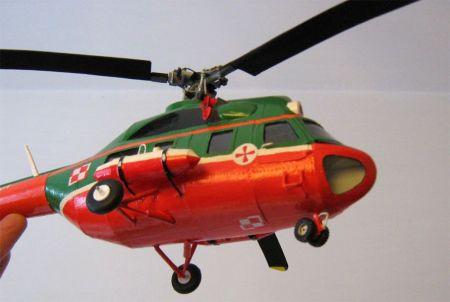 śmigłowiec mi-2 mały modelarz