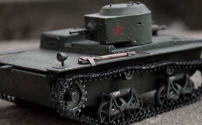 Czołg pływający T-38 z MM 4/89