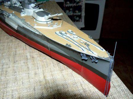 HMS Warspite  ,Military Model 34/95