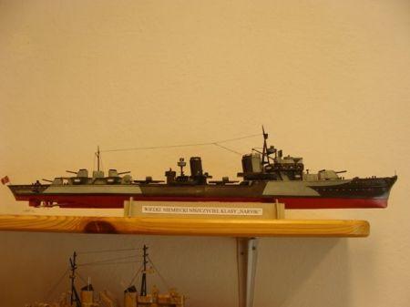 wielki niemiecki niszczyciel klasy Narvik