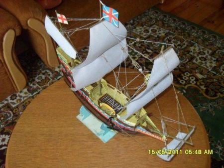 Okręt żaglowy Mayflower MM