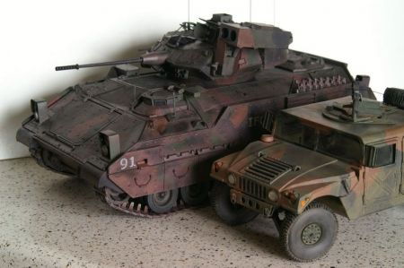 Bradley M2 - IFOR mod ModelCard