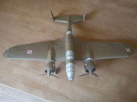 Polski Samolot Bombowy Łoś