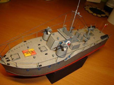 Polski ścigacz artyleryjski ORP Wilczur
