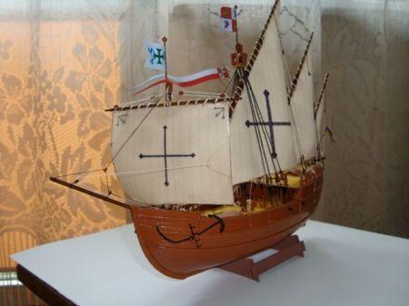 Nina - jeden ze statków Kolumba
