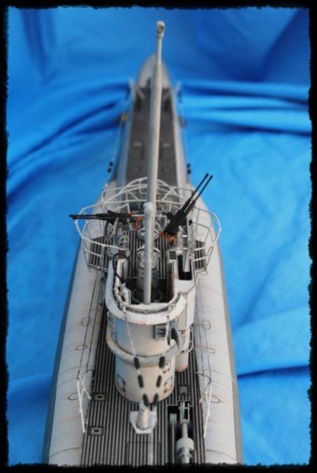 U-boot VIIC-41 Skala 1:72