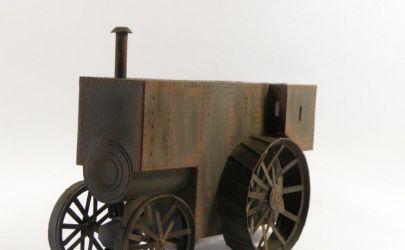 Pancerny traktor parowy Fowler b5