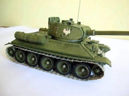 T-34 - MM wydanie z lat 70