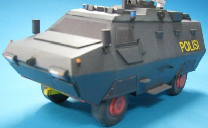 Barracuda 4x4 APC  Free Model