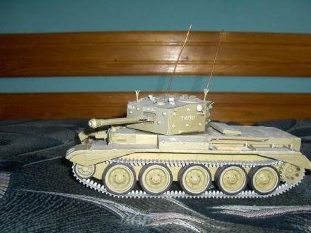 Brytyjski czołg MK.VII Cromwell IV