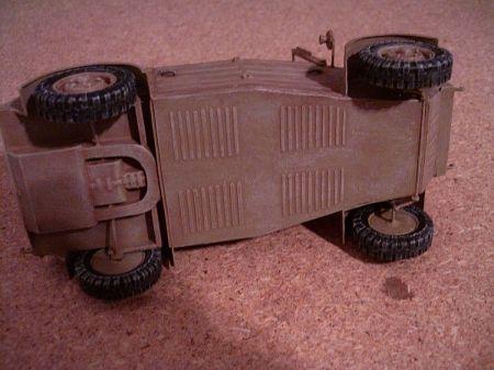 VW Kubelwagen 1/25  Kartonowy Fan(baza)  i własne dodatki