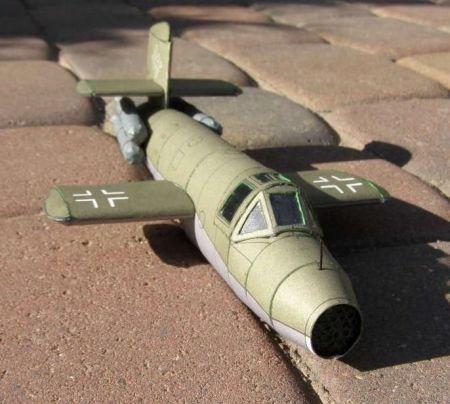 Samolot rakietowy Ba 349 Natter