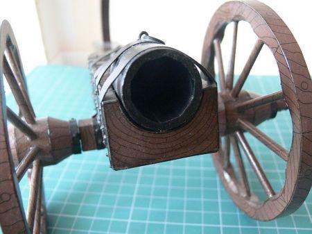 Bombarda (Hufnica polowa z XV wieku) Modelik 4/99