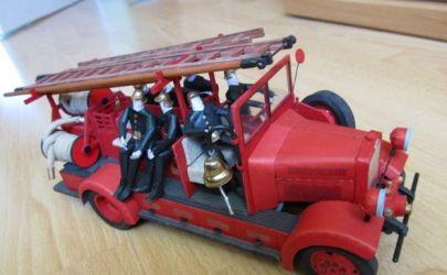 FIAT 621 Straż Pożarna