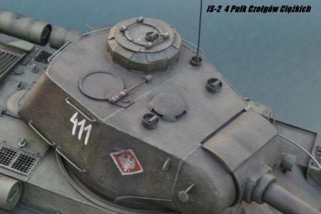 IS-2  4 Pułk Czołgów Ciężkich