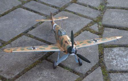 MM 3/2007 Samolot myśliwski Messerschmitt Me 109G-2/trop