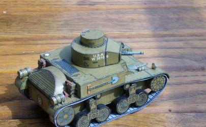 M2A1 Light Tank