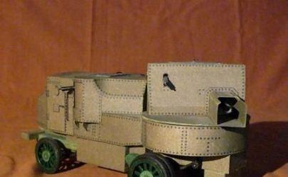 Wóz pancerny z czasów Rewolucji Paźdiernikowej