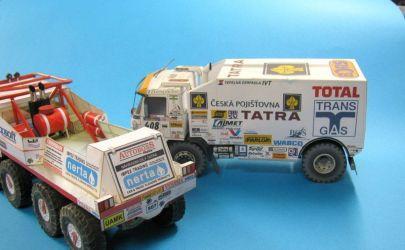 TATRA 813 extreme truck trial.
