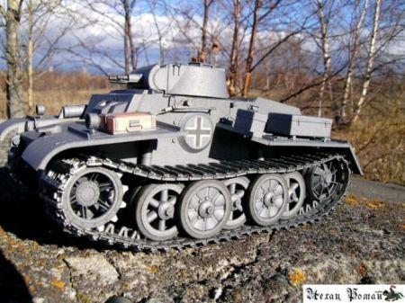 Niemiecki czołg T -IF