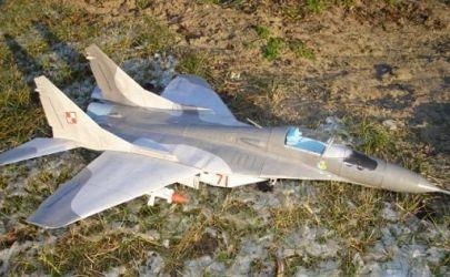 Samolot myśliwski MiG 29