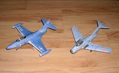 Grumman F9F-2 Panther (U.S. Navy VF-51)