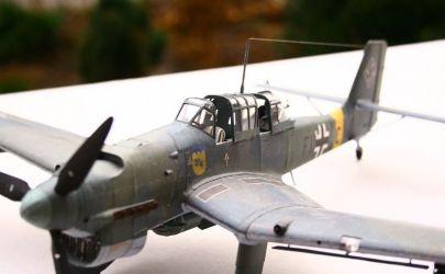 Junkers ju 87 B2 stuka - front wschodni