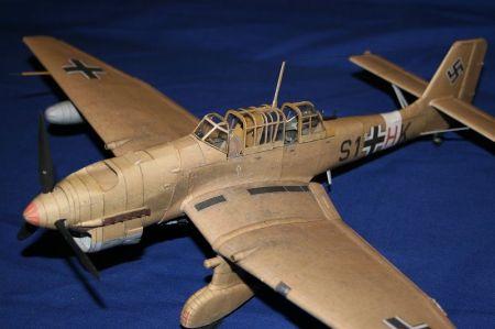 Junkers ju 87 R2 stuka , KW CARTOON
