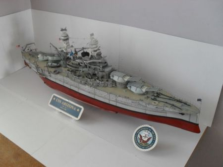 USS Arizona 1:200 z GPM-u