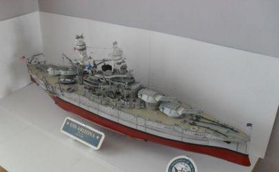 USS Arizona 1:200 z GPM-u