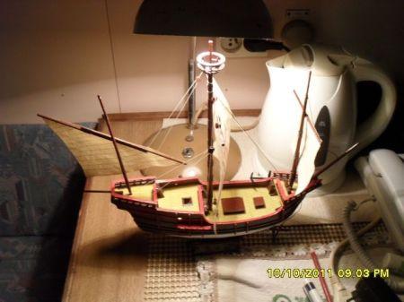 karawela Pinta Okręty Wielkich Odkrywców