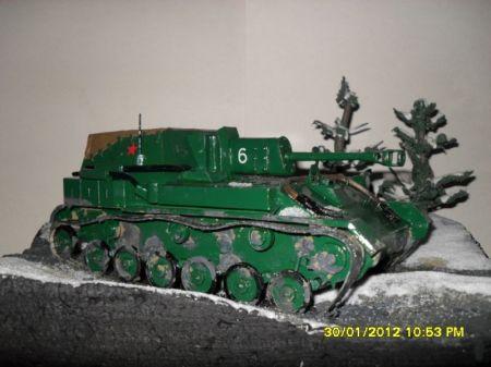 Su-76M czyli W tym roku zima zaskoczyła tankistów