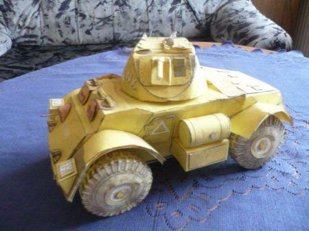 Staghound Mk-1 wersja pustynna