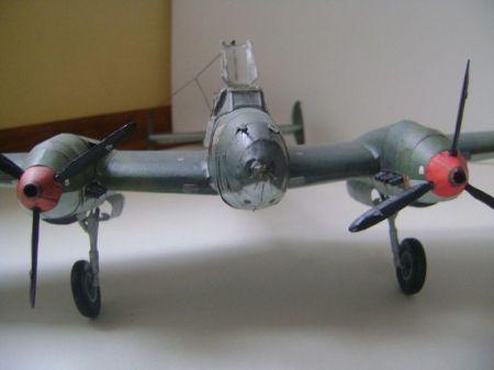 1-2-3/2008 Samolot myśliwsko bombowy Messerchmitt Bf-110 C-1
