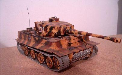 Tygrys z Mikro Model 1/35
