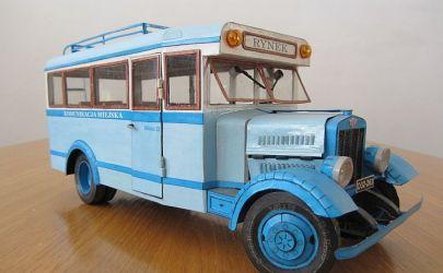 Fiat 621L Autobus z Modelika 1/25