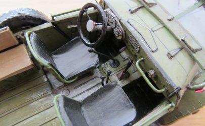 Gaz-69 z Modelika 1/25