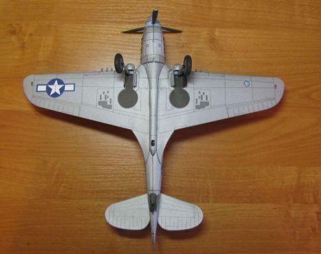 P - 40N WARHAWK [Model Card 42]